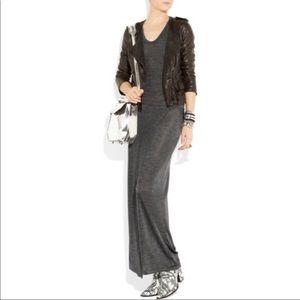 Y by Alexander Wang Stretch Sheer Maxi Dress